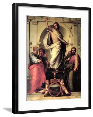 The Resurrection of Christ-Fra Bartolommeo-Framed Art Print