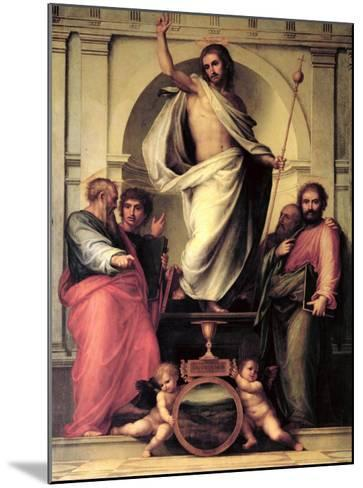 The Resurrection of Christ-Fra Bartolommeo-Mounted Giclee Print