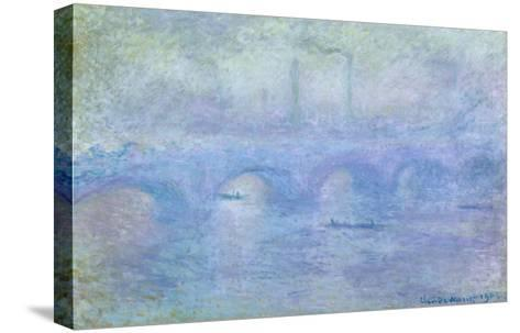 Waterloo Bridge: Effect of the Mist, 1903-Claude Monet-Stretched Canvas Print