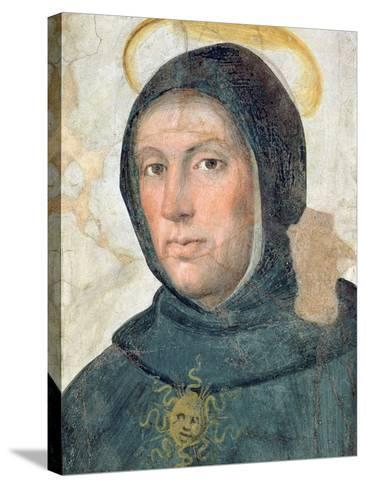 St. Thomas Aquinas-Fra Bartolommeo-Stretched Canvas Print