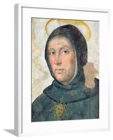 St. Thomas Aquinas-Fra Bartolommeo-Framed Art Print