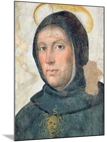 St. Thomas Aquinas-Fra Bartolommeo-Mounted Giclee Print