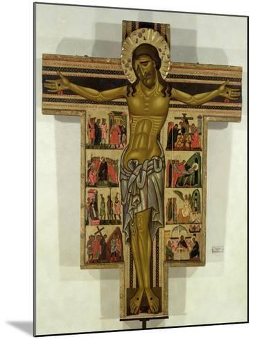 Crucifixion with Stories of the Passion, School of Lucca--Mounted Giclee Print
