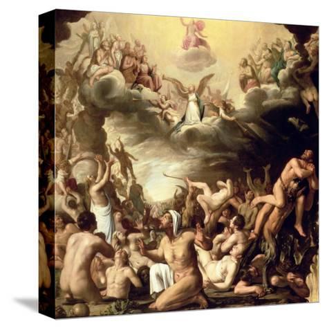 Last Judgement-Nicolaes Eliasz-Stretched Canvas Print