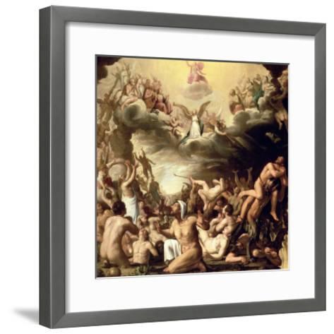 Last Judgement-Nicolaes Eliasz-Framed Art Print
