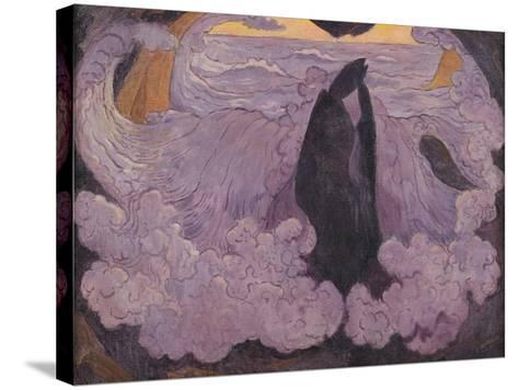 The Violet Wave, circa 1895-6-Georges Lacombe-Stretched Canvas Print