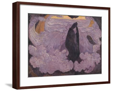 The Violet Wave, circa 1895-6-Georges Lacombe-Framed Art Print