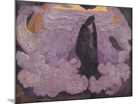 The Violet Wave, circa 1895-6-Georges Lacombe-Mounted Giclee Print