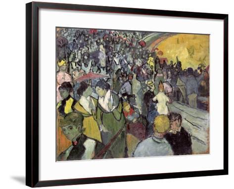 The Arena at Arles, c.1888-Vincent van Gogh-Framed Art Print