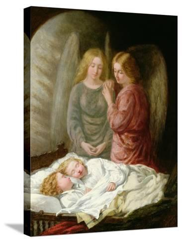 The Guardian Angels-Joshua Hargrave Sams Mann-Stretched Canvas Print