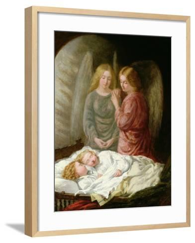 The Guardian Angels-Joshua Hargrave Sams Mann-Framed Art Print