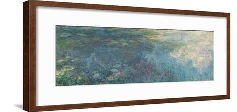 The Waterlilies - the Clouds, 1914-18-Claude Monet-Framed Art Print