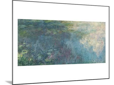 The Waterlilies - the Clouds, 1914-18-Claude Monet-Mounted Giclee Print