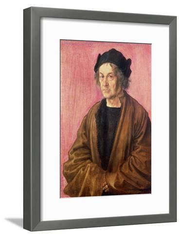 Albrecht Durer's Father, 1497-Albrecht D?rer-Framed Art Print