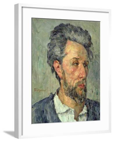 Portrait of Victor Chocquet, 1876-77-Paul C?zanne-Framed Art Print