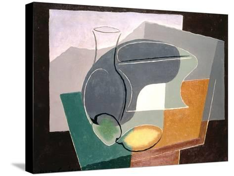 Fruit-Dish and Carafe, 1927-Juan Gris-Stretched Canvas Print