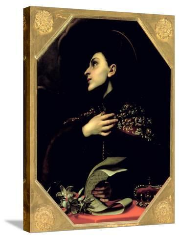 St. Casimir-Carlo Dolci-Stretched Canvas Print