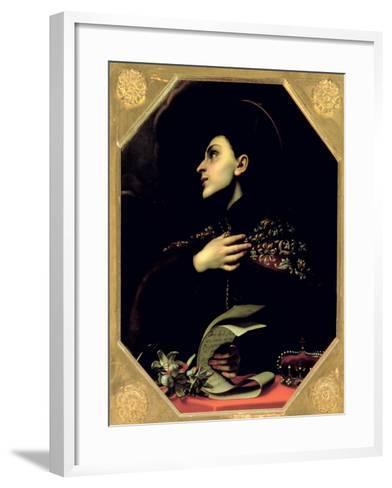 St. Casimir-Carlo Dolci-Framed Art Print