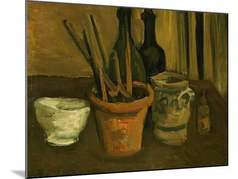 Still Life of Paintbrushes in a Flowerpot-Vincent van Gogh-Mounted Giclee Print