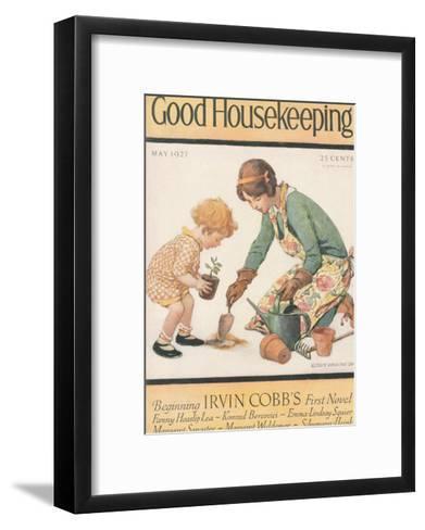 Good Housekeeping, May 1927--Framed Art Print