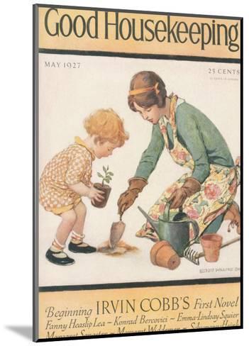 Good Housekeeping, May 1927--Mounted Art Print