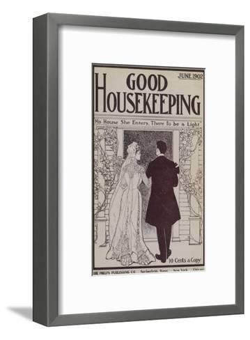 Good Housekeeping, June 1902--Framed Art Print