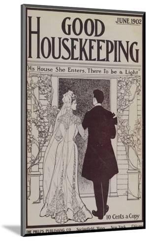 Good Housekeeping, June 1902--Mounted Art Print