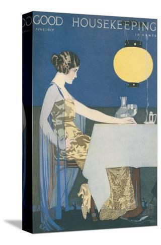 Good Housekeeping, June 1917--Stretched Canvas Print