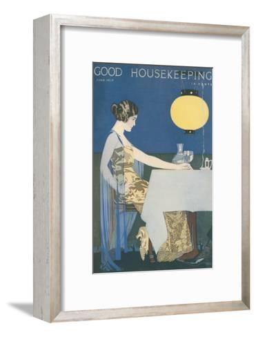 Good Housekeeping, June 1917--Framed Art Print