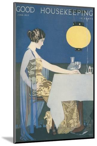 Good Housekeeping, June 1917--Mounted Art Print