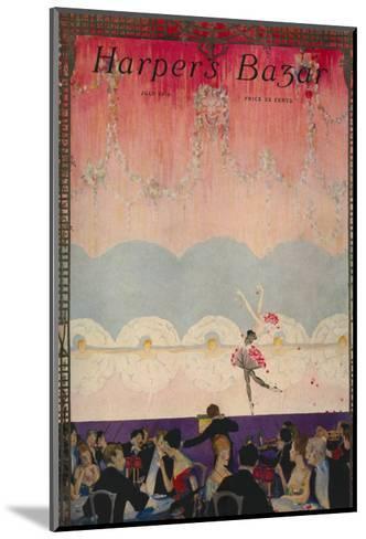 Harper's Bazaar, July 1916--Mounted Art Print
