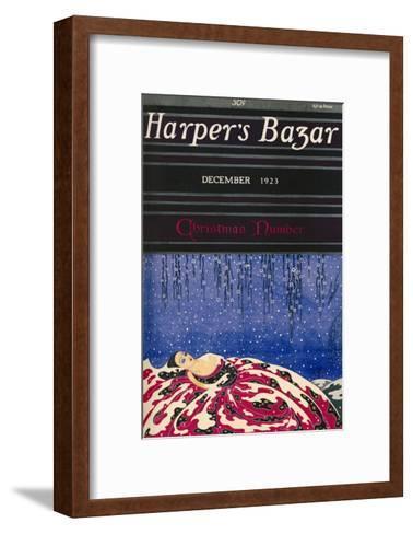 Harper's Bazaar, December 1923--Framed Art Print