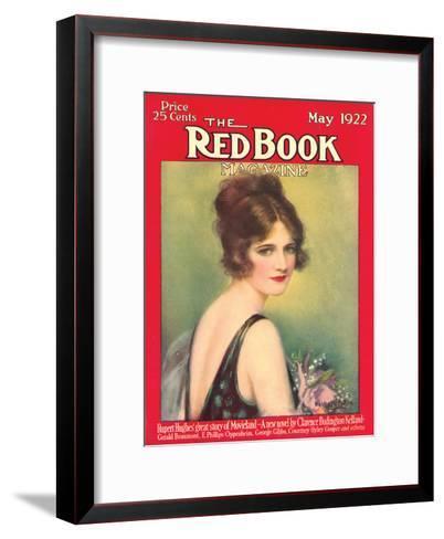 Redbook, May 1922--Framed Art Print