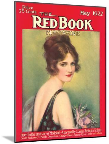 Redbook, May 1922--Mounted Art Print