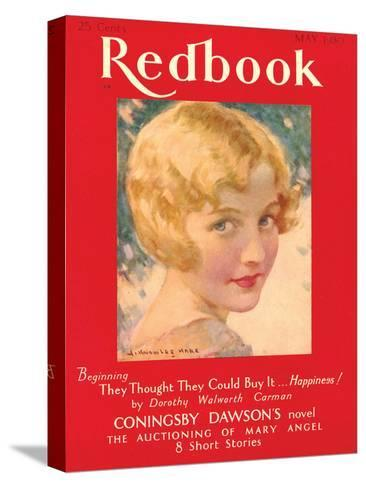 Redbook, May 1930--Stretched Canvas Print