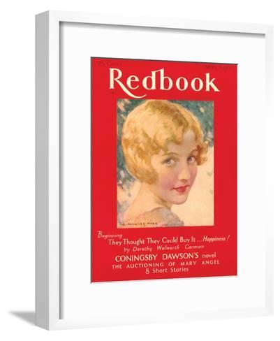 Redbook, May 1930--Framed Art Print