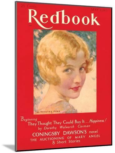 Redbook, May 1930--Mounted Art Print