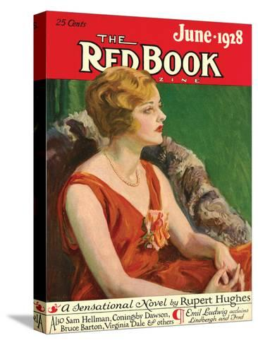 Redbook, June 1928--Stretched Canvas Print
