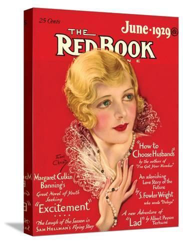 Redbook, June 1929--Stretched Canvas Print