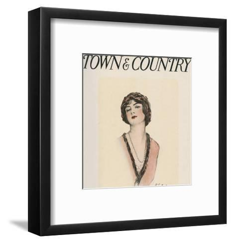 Town & Country, February 28th, 1914--Framed Art Print