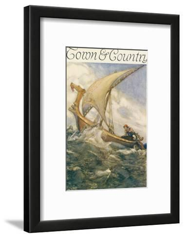 Town & Country, March 1st, 1915--Framed Art Print