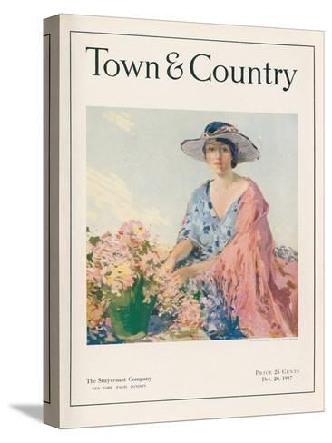 Town & Country, December 20th, 1917--Stretched Canvas Print