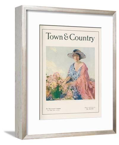 Town & Country, December 20th, 1917--Framed Art Print