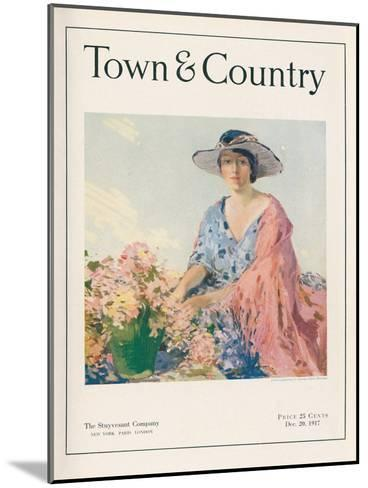 Town & Country, December 20th, 1917--Mounted Art Print
