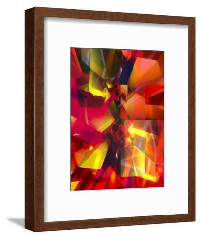 Futuristic Texture--Framed Art Print