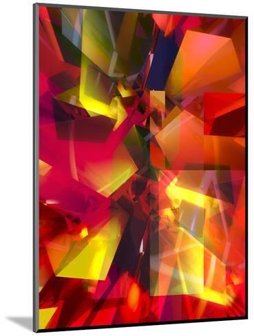 Futuristic Texture--Mounted Art Print