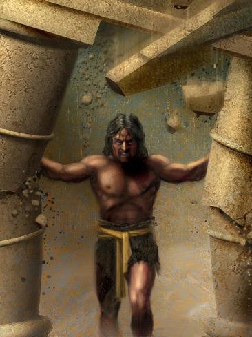 Samson--Stretched Canvas Print