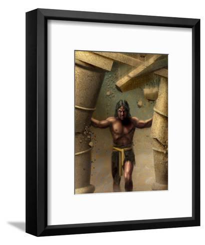Samson--Framed Art Print