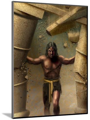Samson--Mounted Art Print