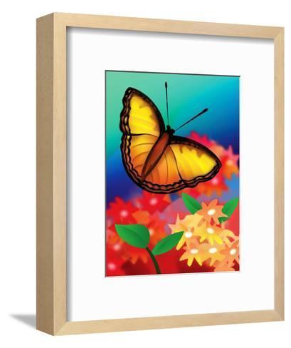 Butterfly--Framed Art Print